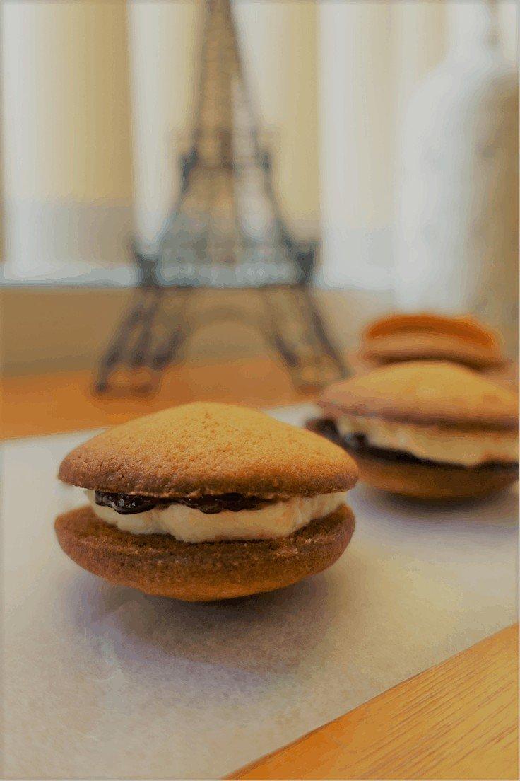 Paris kisses recipe