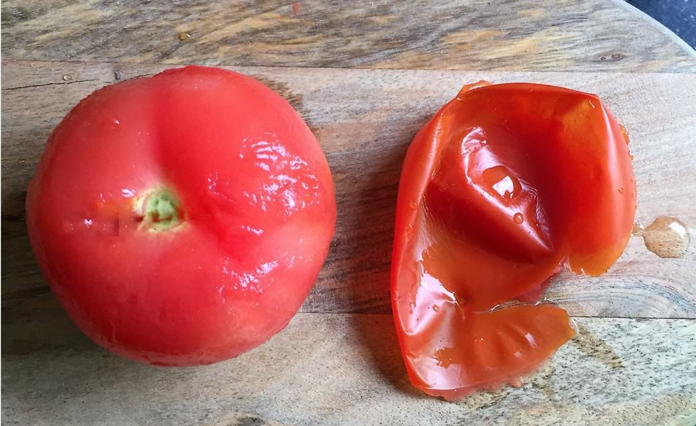 How to peel tomatoes