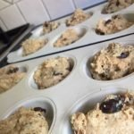 date muffins ready to bake
