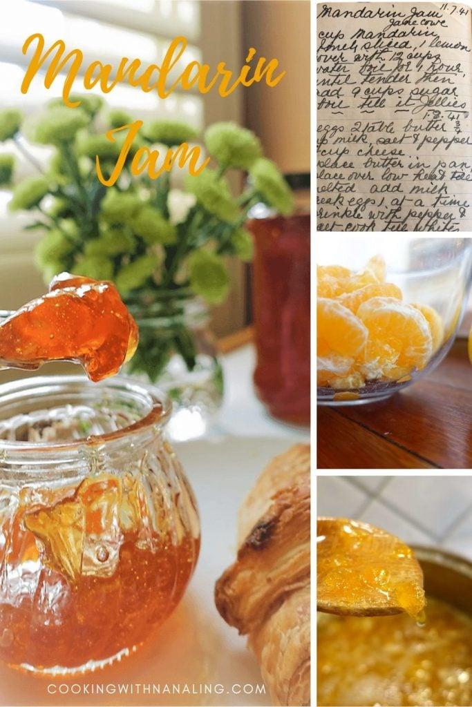 mandarin jam collage
