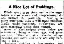 pudding advice