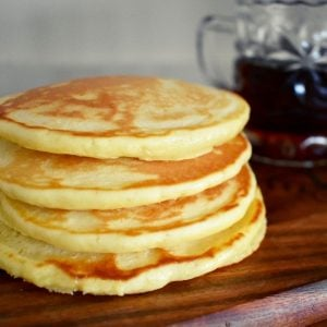 stack of scotch pancakes