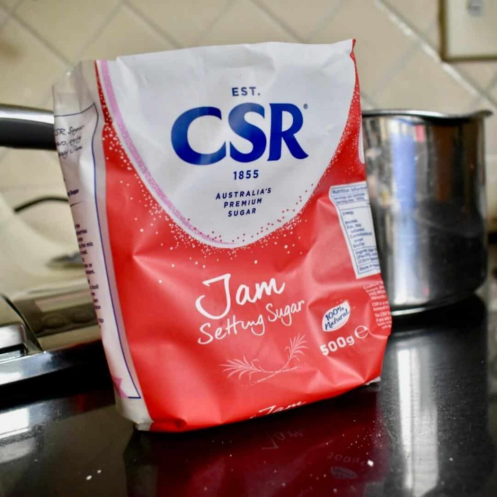 jam setting sugar