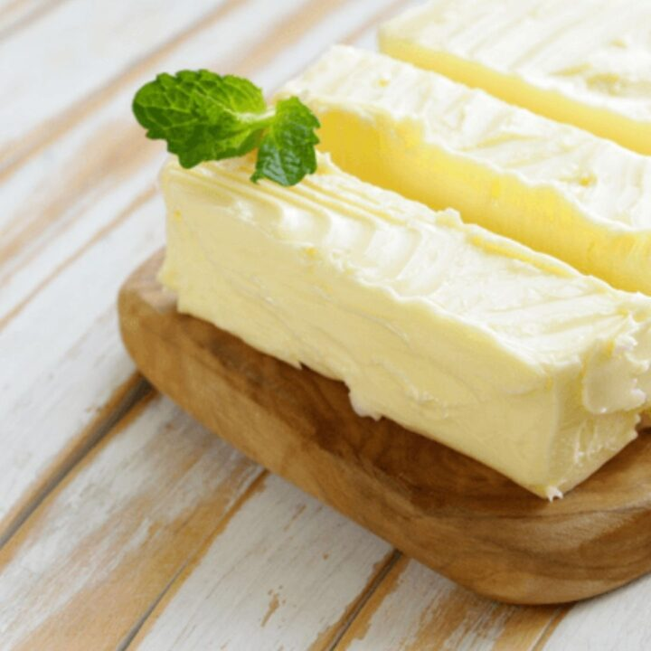 making butter at home