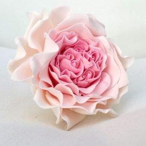 sugar rose cake topper