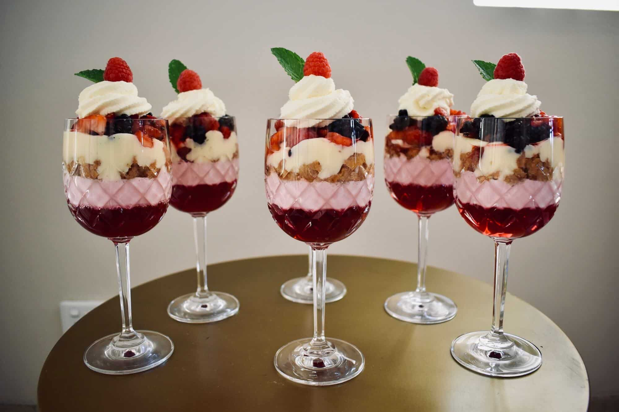 ready to eat individual trifles