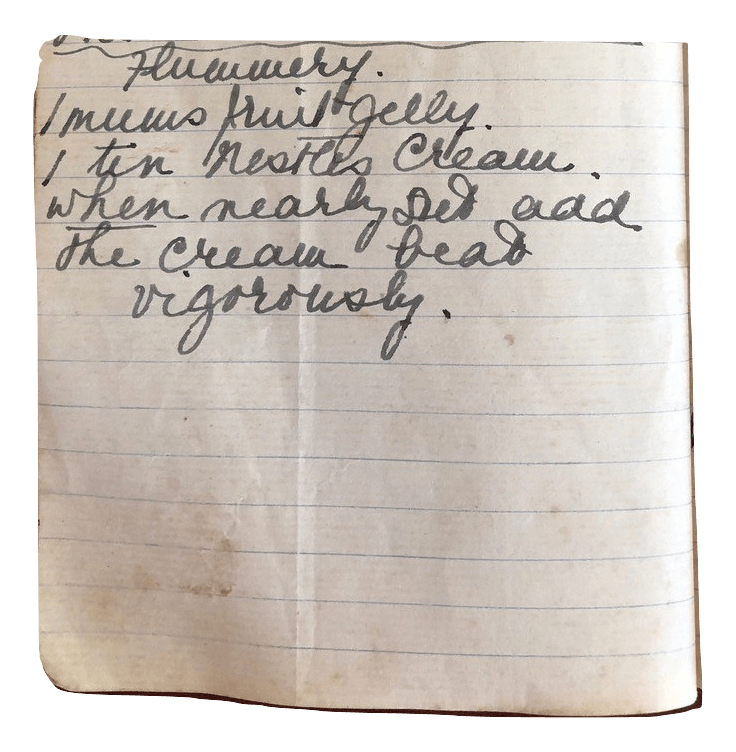 flummery recipe