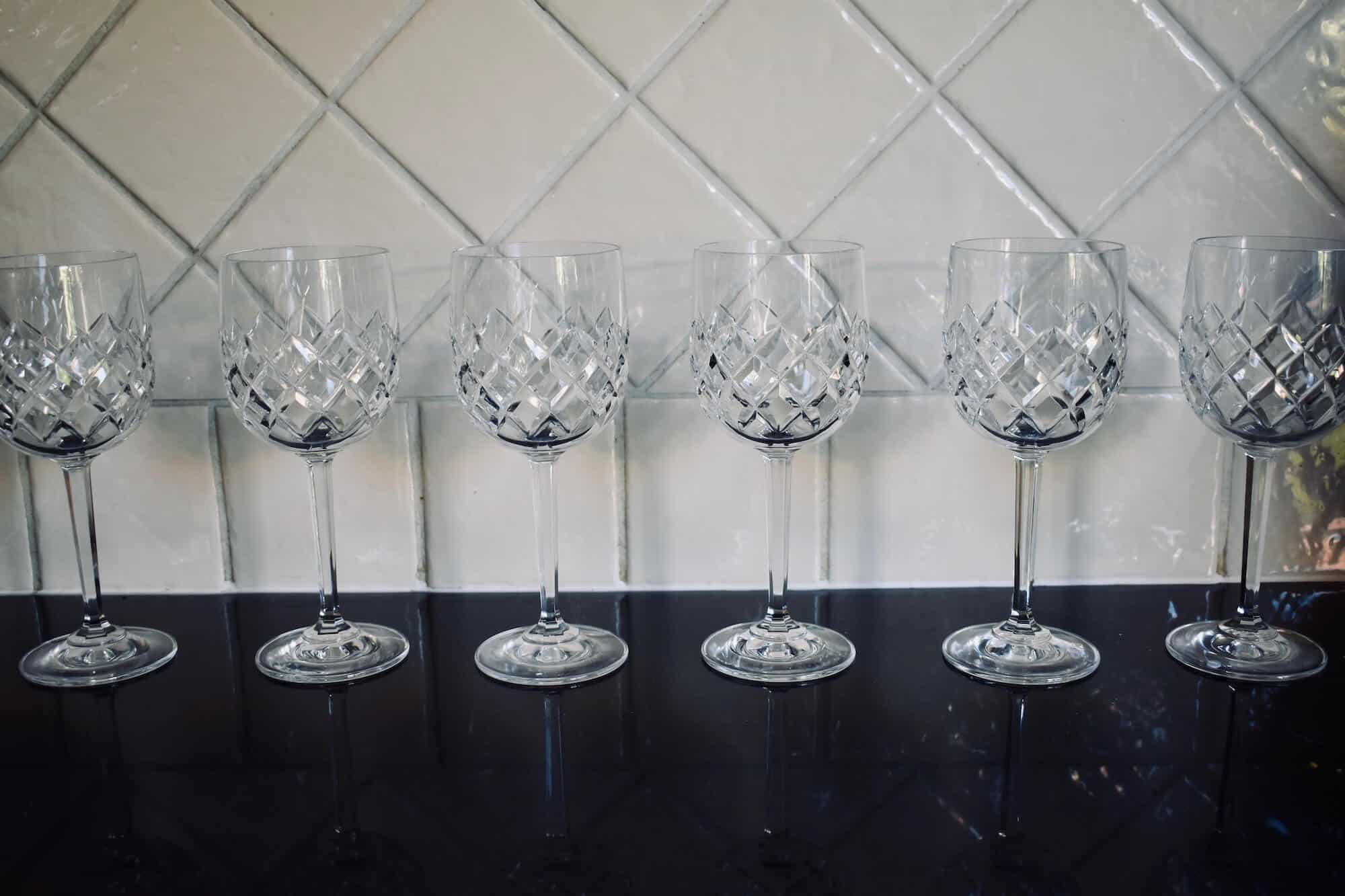 mini trifle glasses