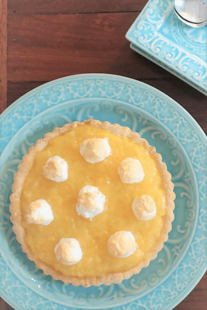 Pineapple tart using crushed pineapple