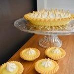 lemon meringue tart with condensed milk