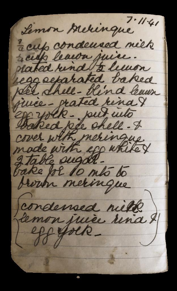 lemon meringue condensed milk recipe