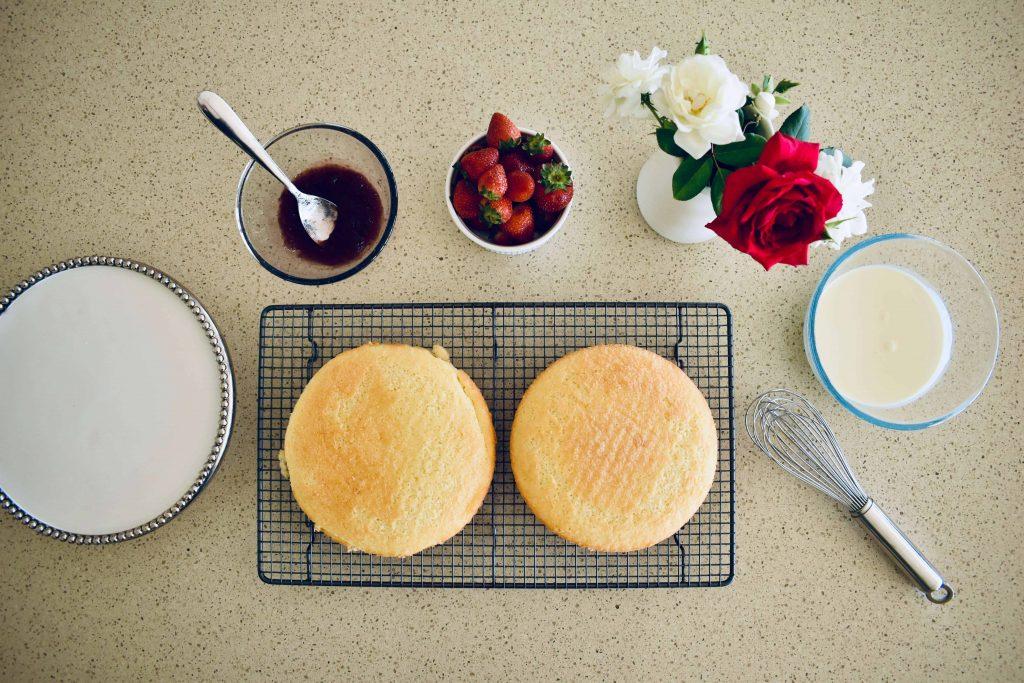victoria sponge ingredients