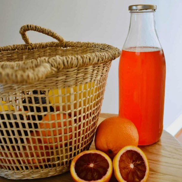 Blood Orange Cordial