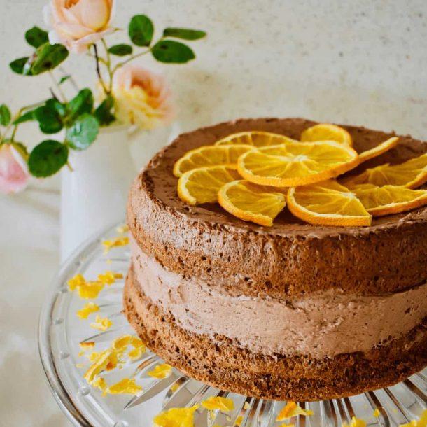 Ginger Sponge Cake