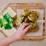 parsley fritters