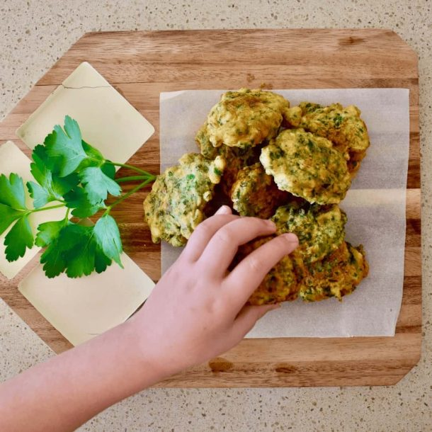 Faye's Parsley Fritters