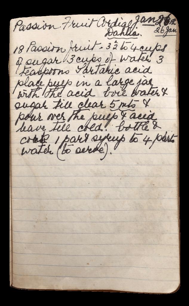 passionfruit cordial recipe