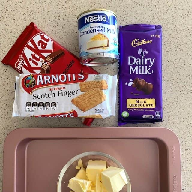 Kit Kat slice ingredients