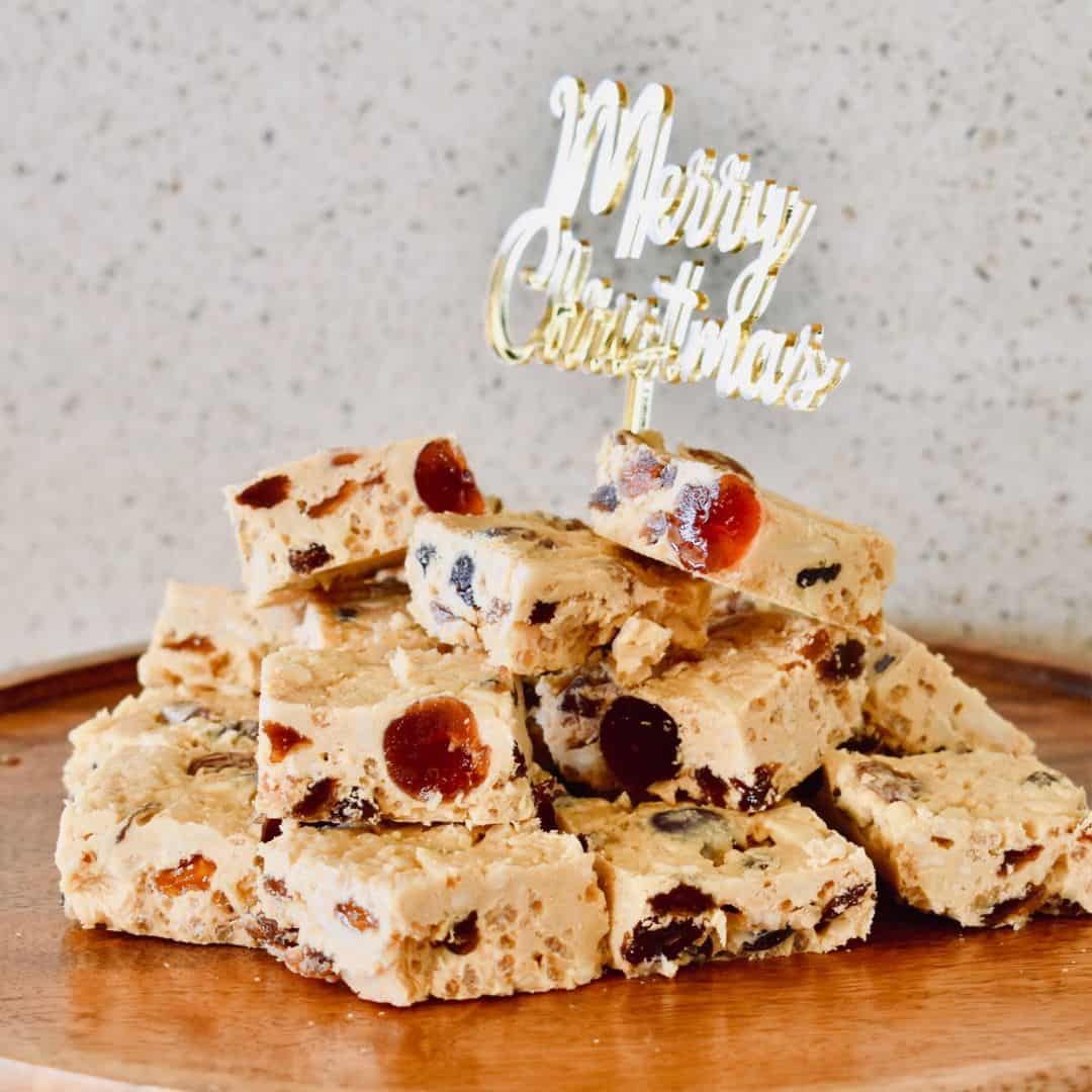 Caramilk Christmas Slice
