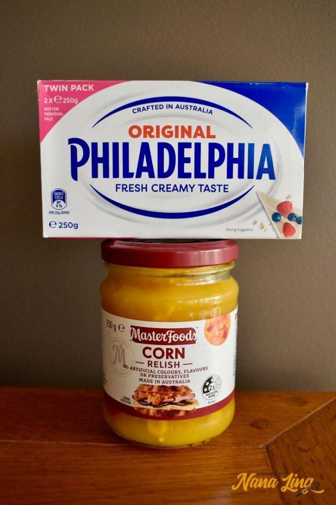 corn relish dip ingredients