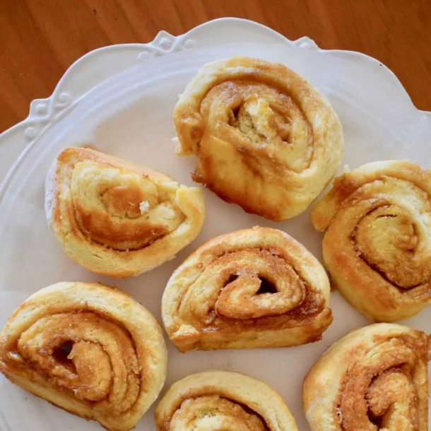 Butterscotch Pinwheel Scones