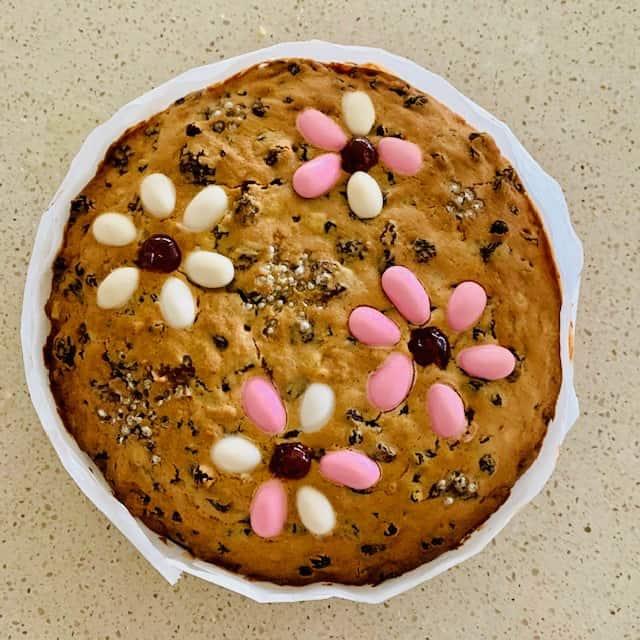 floral fruit cake 3
