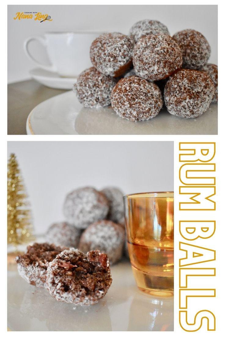 rum balls recipe photos of rum balls