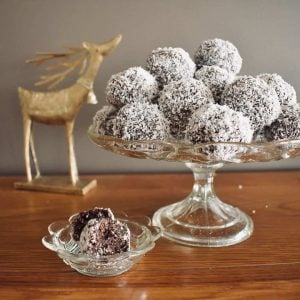rum balls made with weetbix