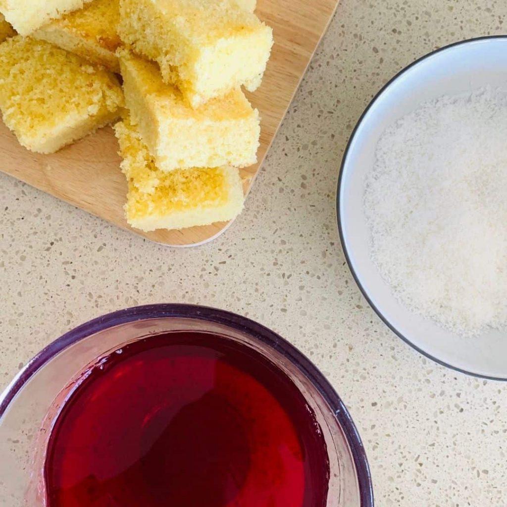 jelly lamington ingredients