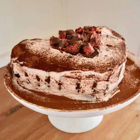 Cherry Ripe Love Cake