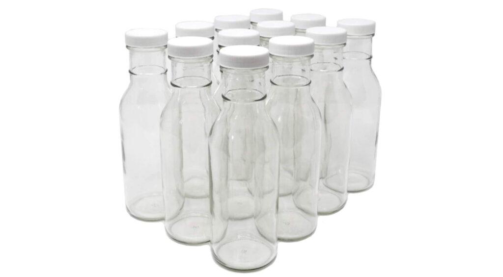 glass sauce bottles