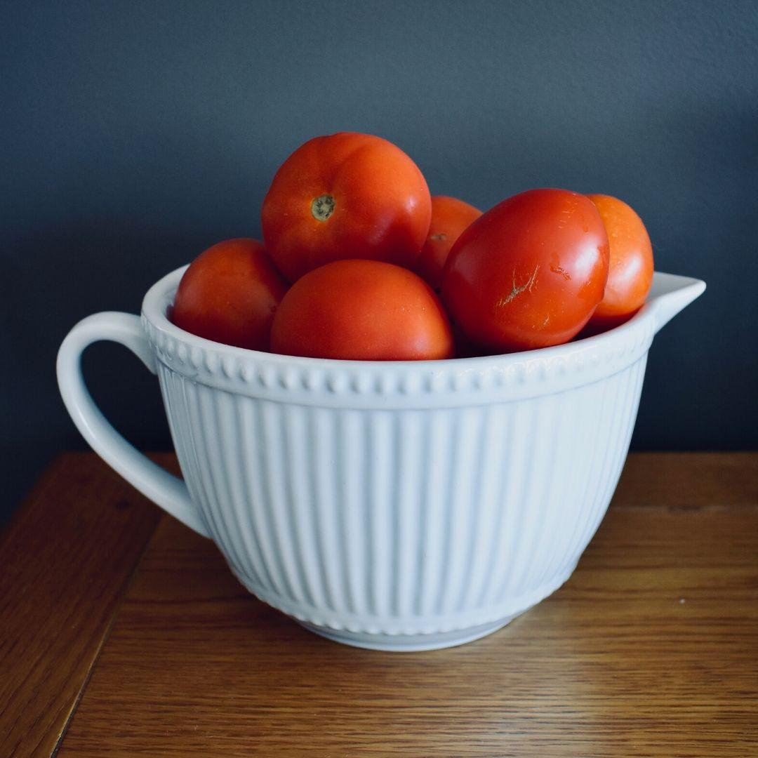 tomatoes to peel