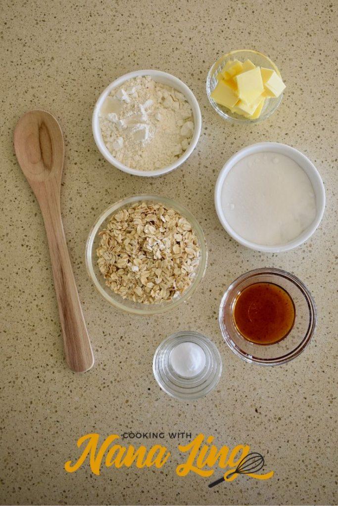 anzac biscuits ingredients