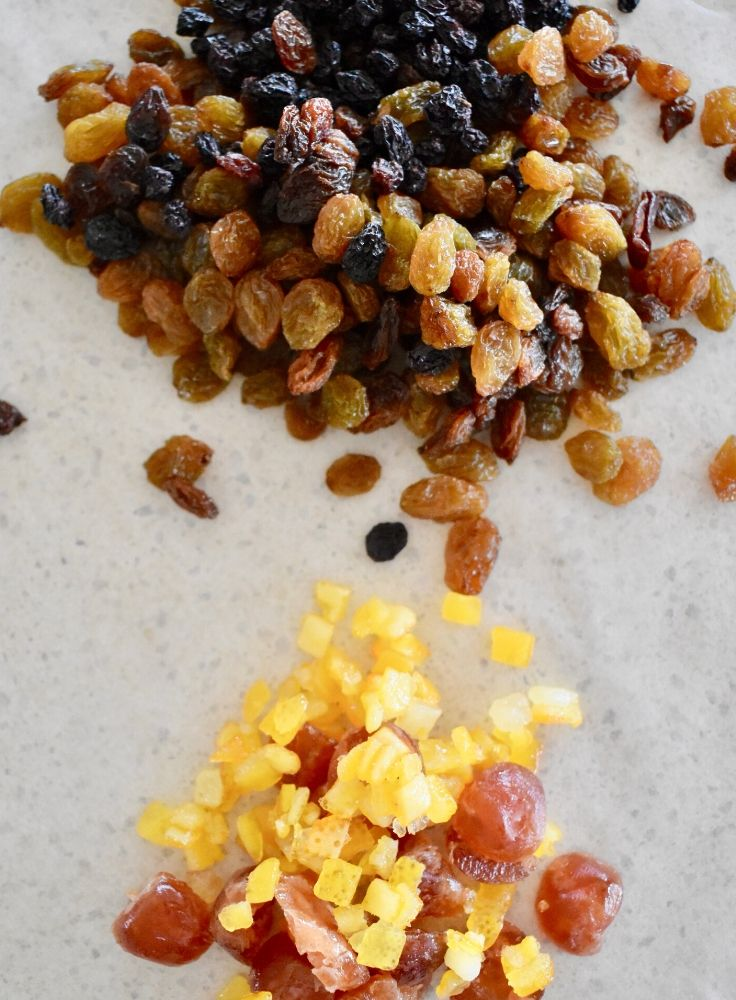 dried fruit rock cakes