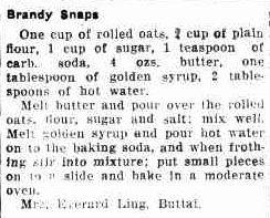 early anzac biscuits recipe