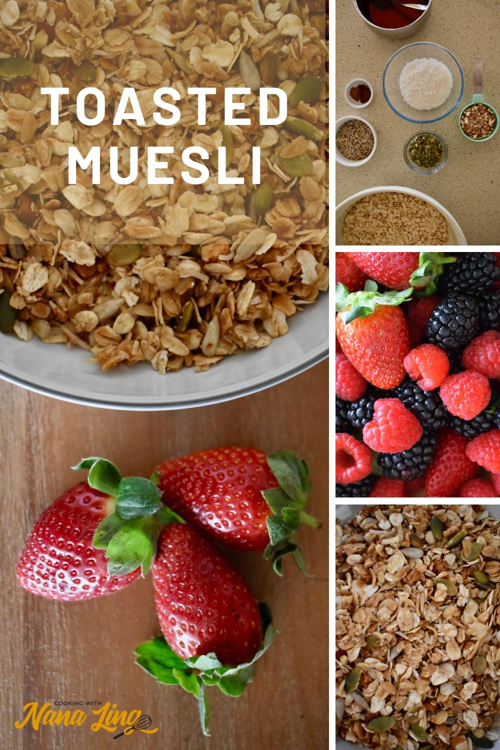 toasted muesli recipe and ingredients
