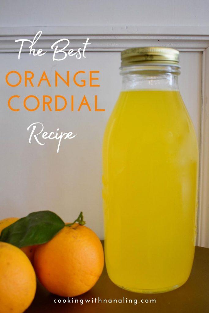 orange cordial