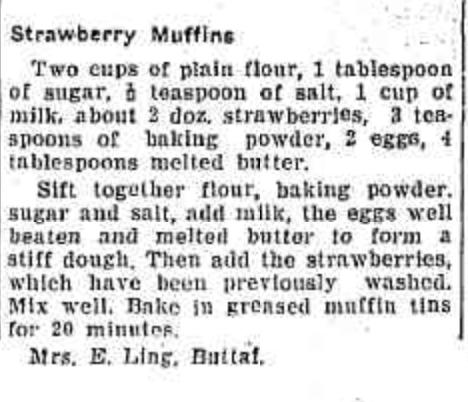 Nana Ling's muffin recipe