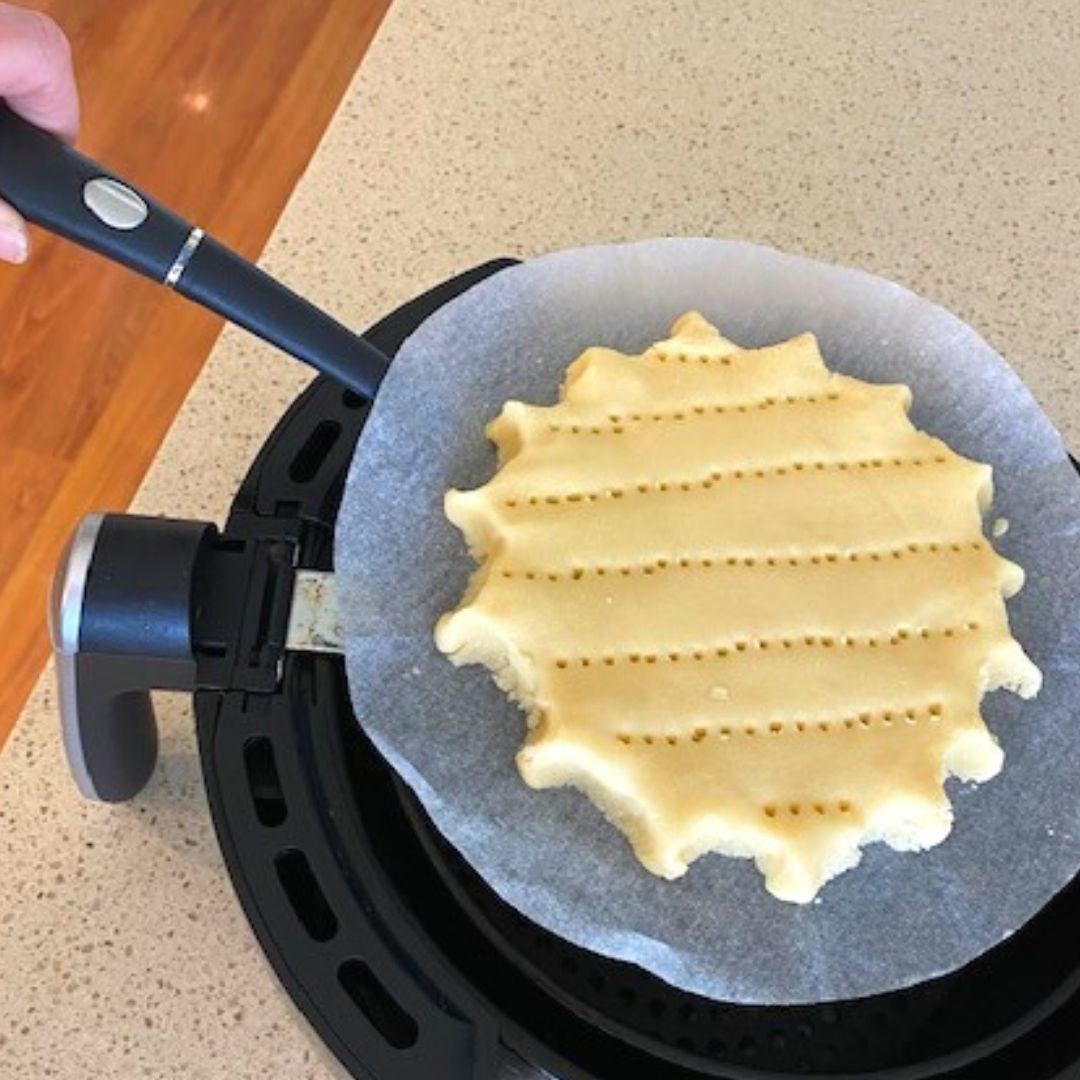 scottish shortbread in air fryer