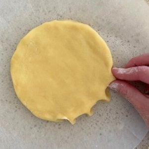 scottish shortbread pinching edges