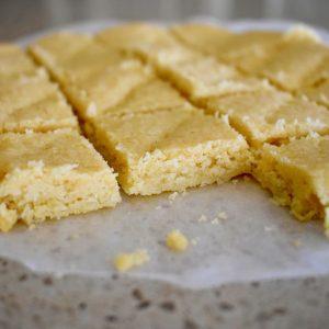 scottish shortbread squares