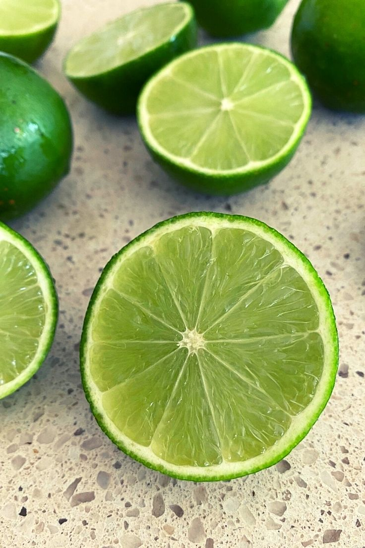 limes for lemon lime and bitters