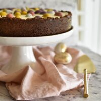 Easter Chocolate Cheesecake