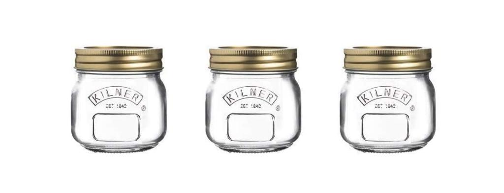 glass jars for preserving jam