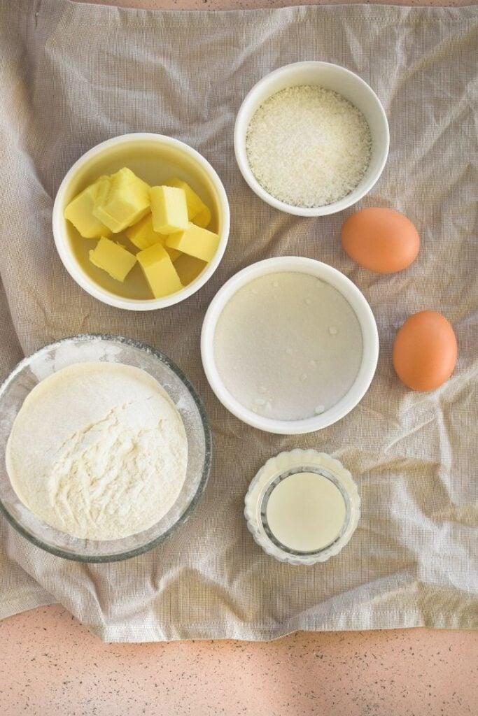 coconut cake ingredients