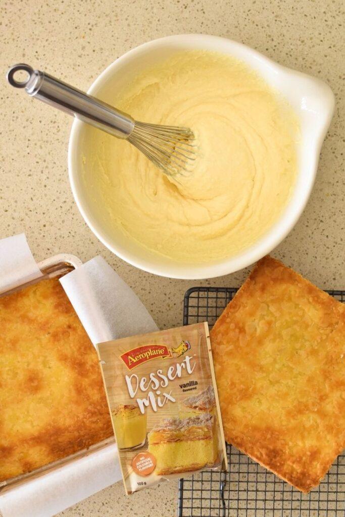 vanilla slice ingredients