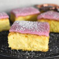 vanilla slice square