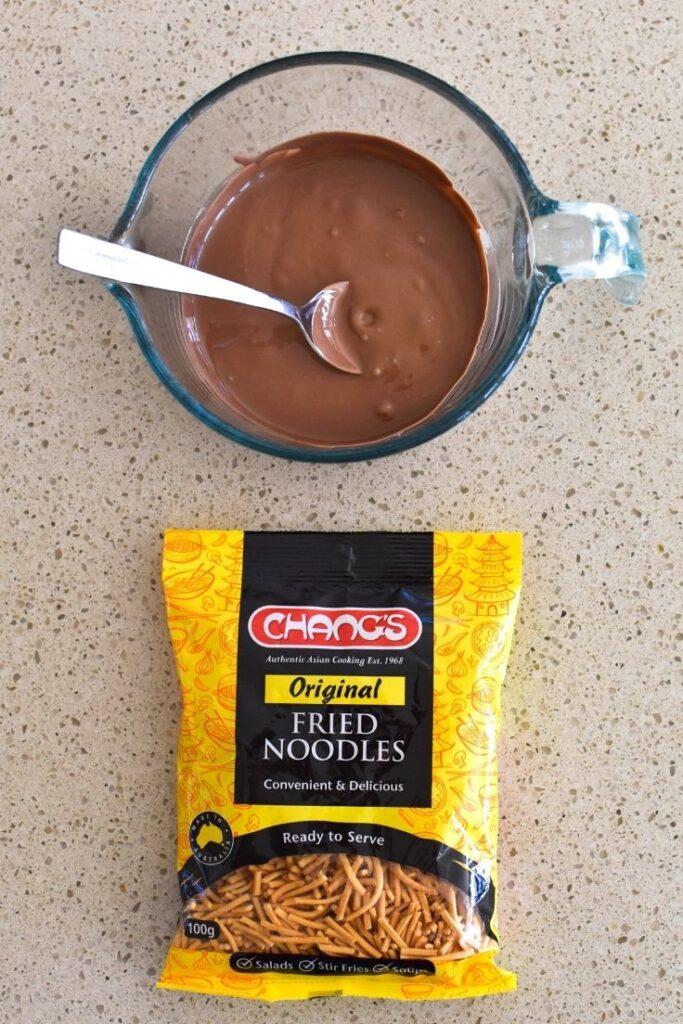 chocolate spiders method