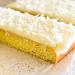 cutting up lemon slice