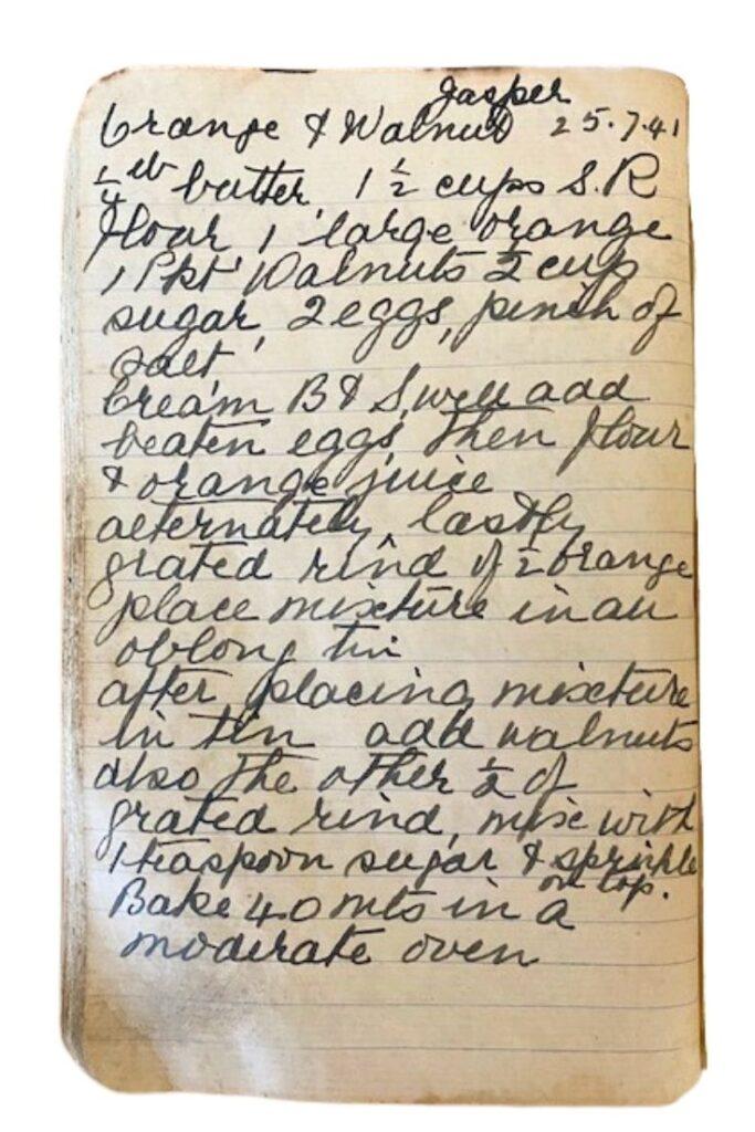 orange walnut cake recipe